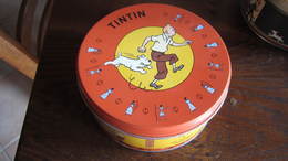 BOITE DE CHOCOLAT TINTIN ET LES CIGARES DU PHARAON - Tintin