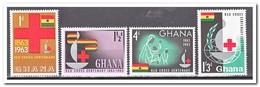 Ghana 1963, Postfris MNH, 100 Years International Red Cross - Ghana (1957-...)