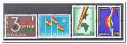 Ghana 1963, Postfris MNH, 3 Years Republic - Ghana (1957-...)