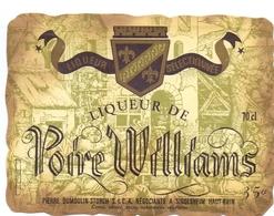 Etiket Etiquette - Likeur Liqueur De Poire Williams - P. Demoulin - Storch à Sigolsheim - Labels
