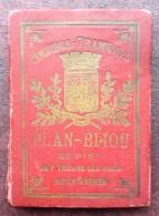 Plan-Bijou De Paris . Omnibus , Tramways Et Métro . Vers 1910 . - Europe