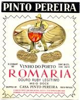 Etiket Etiquette - Pinto Pereira - Vinho Do Porto - Romaria - Douro - Portugal - Labels