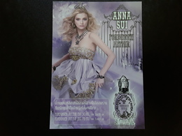 """ANNA SUI  """" FORBIDDEN  AFFAIR  """" - Perfume Cards"""