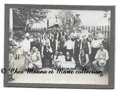 L INDEPENDANTE BOULE - CLUB DE BOULISTES - PETANQUE - BOULES - CDV PHOTO 11 X 8 CM - Bowls - Pétanque