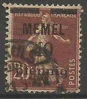 Memel (Klaipeda) - 1920 Sower Overprint 40pf/20c Used   Mi 22  Sc 22 - Memel (1920-1924)