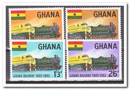 Ghana 1963, Postfris MNH, Trains - Ghana (1957-...)