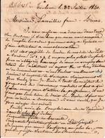 1840 - Lettre à MM. LAREILLET Frères, Maîtres De Forges à BROCAS (40) De Toulouse - Documents Historiques