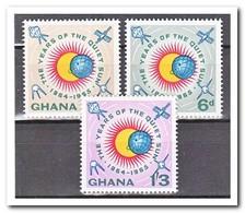 Ghana 1963, Postfris MNH, International Years Of The Quiet Sun - Ghana (1957-...)