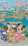 Télécarte NEUVE Japon - DISNEY SEA - SPRING VOYAGE 2 - Mickey Minnie Teddy Bear Japan MINT Free Teleca Phonecard - Disney