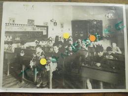 66 ESPIRA DE L'AGLY Carte Photo De Classe En 1939 - France