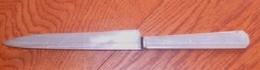 Couteau Publicité Champagne Morlant (de La Marne) - Couteaux