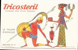 """Buvard ( 21 X 13.5 Cm ) """" Tricostéril """" ( Pliures ) - Blotters"""