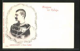 CPA König Alexander I. Von Serbien - Serbien