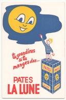 Buvard Pâtes La Lune ( 22 X 13.5 Cm ) - Food