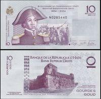 Haiti (Caribbean Country) 2014 Banknote 10 Gourdes Pick-272g UNC Uncirculated Fresh Crisp Excellent Condition - Haïti