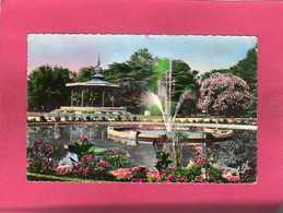 31 Hte Garonne, Les Beaux Jardins De Toulouse, Le Bassin Du Grand Rond Et Le Kiosque, 1957, (Labouche) - Toulouse