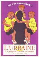 Buvard ( 21 X 13.5 Cm ) L'Urbaine - Bank & Insurance