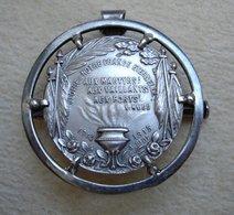 Guerre 14-18 Médaille En Argent Gloire à Notre FRANCE éternelle Signée A. Fiot 1914-1915 - 1914-18