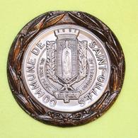 Médaille De La Commune De Saint-Gilles – Bruxelles - Bord Bronze – Métal Et étain - Belgio