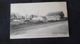 CPA 33 Facture - La Gendarmerie Et L'usine De Térébenthine - Autres Communes