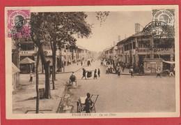 CPA: Cambodge - Pnom-Penh - La Rue Ohier (Editeur Nadal) - Cambodia