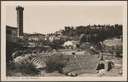 Teatro Romano, Fiesole, Toscana, C.1930s - Brunelleschi Foto Cartolina - Firenze (Florence)