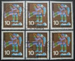 ALLEMAGNE N°498 X 7 Oblitéré - Stamps