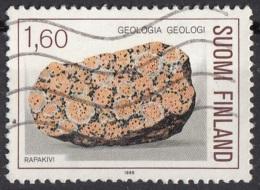 Finlandia 1986  Sc. 733  Rapaviki Granito  Geologia Suomi Finland - Minerali