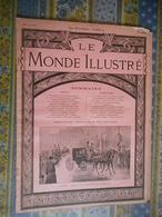 LE MONDE ILLUSTRE 02/02/1901 EOUARD VII MORT GIUSEPPE VERDI RONCOLE SANT'AGATA MIRAMAR DE MAJORQUE MONACO TIR PIGEONS - Journaux - Quotidiens