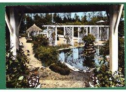 22 - LANRELAS - Le Jardin De L'Auberge Des Rochers - Francia