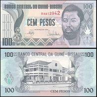 Guinea Bissau (Africa) 1990 Banknote 100 Pesos Pick-11 UNC Uncirculated Fresh Crisp Excellent Condition - Guinea-Bissau