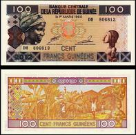 Guinea (Africa) 2012 Banknote 100 Francs Pick-35b UNC Uncirculated Fresh Crisp Excellent Condition - Guinea