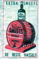 Extra Smeets De Beste Hasselt Alcool Bouteille Tonneau - Matchbox Labels