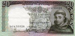 Belhete  20 Escudos 1964 Santo Antonio Republica Portuguesa - Portugal
