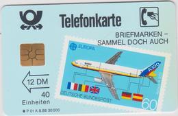 DEUTSCHLAND  P01 A08.88  9891960 - P & PD-Series : D. Telekom Till