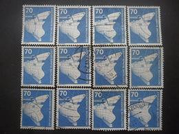 ALLEMAGNE N°701 X 12 Oblitéré - Briefmarken