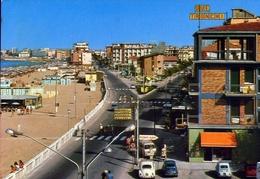 Rivabella Di Rimini - Lungomare E Spiaggia - Formato Grande Viaggiata – E 7 - Rimini