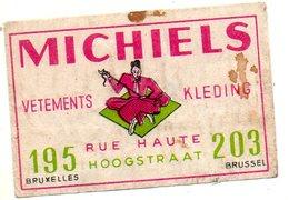 Michiels Vêtements Bruxelles - Matchbox Labels