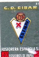 Fosforera Espanola C . D . Eibar 33 - Matchbox Labels