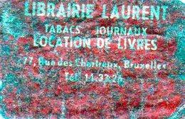 Librairie Laurent Tabacs Journaux Location De Livres Bruxelles - Matchbox Labels