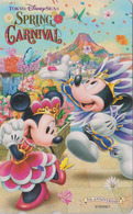 Télécarte NEUVE Japon / MF-1002886 - DISNEY SEA - SPRING CARNIVAL - Mickey Minnie - Japan MINT Phonecard - Disney