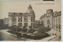 LIMOGES - EXP. PHILATELIQUE - 193O - CACHET SPÉCIAL -LIMOGES LE JIARDIN DE LA POSTE-ANIMÉ - - Storia Postale