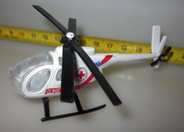 ELICOTTERO CROCE ROSSA ITALIANA METAL - Airplanes & Helicopters