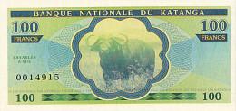 Katanga 100 Francs 2013 émission Privée UNC - Non Classés