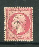 Y&T N°24- Ancre Noire - 1862 Napoleone III