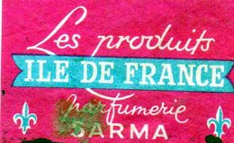 Les Produits Ile De France Parfumerie Sarma - Matchbox Labels