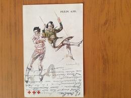 CP 10/10/1930 Pour La Croix Rouge De Belgique Illustration Massone - Croix-Rouge