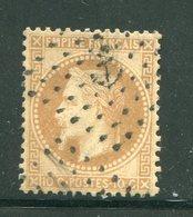 Y&T N°28B- Ancre Noire - 1863-1870 Napoleone III Con Gli Allori