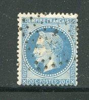 Y&T N°29B- Ancre Noire - 1863-1870 Napoleone III Con Gli Allori