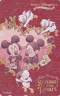 Télécarte NEUVE Japon / MF-1002861 - DISNEY SEA - Mickey Minnie Tir à L'arc Archery - Japan MINT Phonecard - Disney